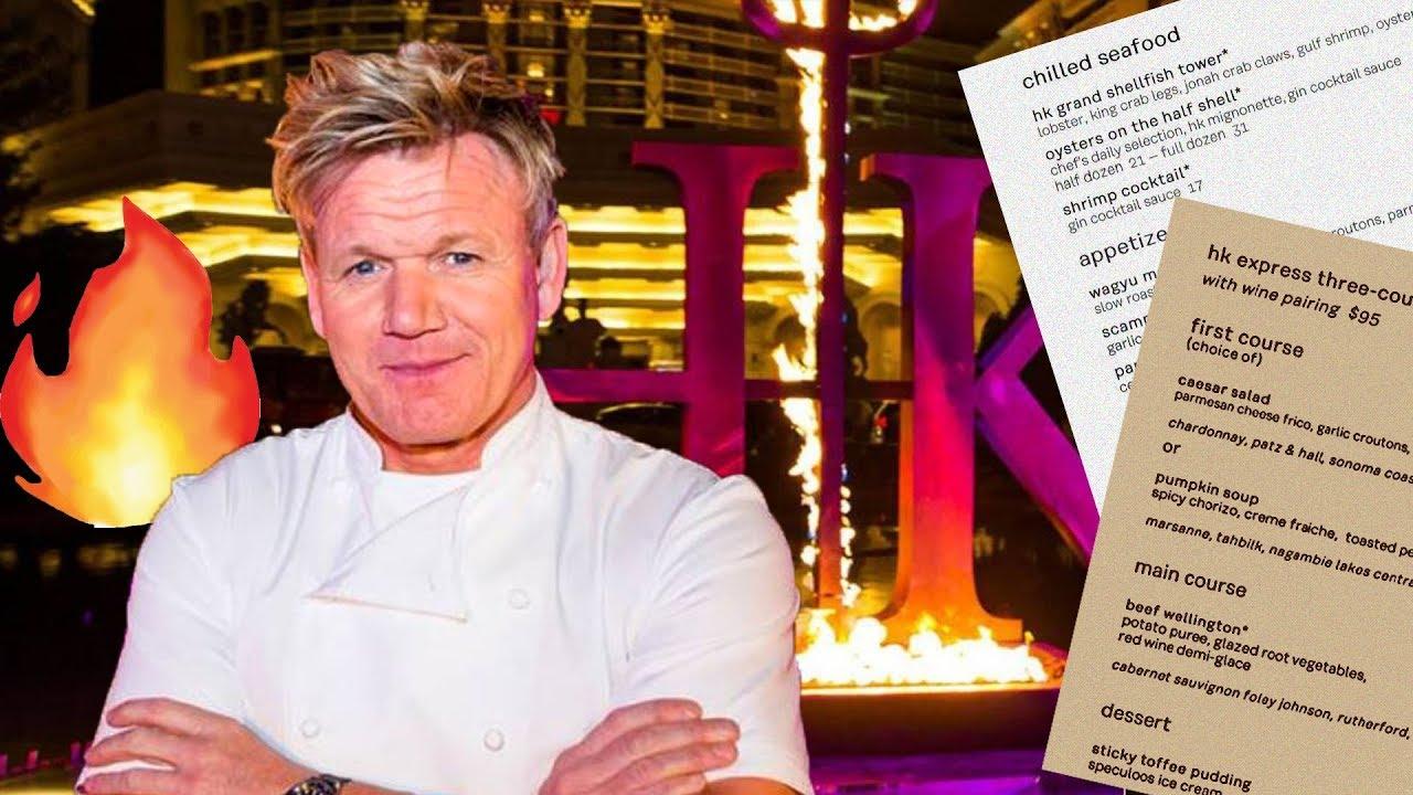 Fine Gordon Ramsays Hells Kitchen Restaurant Menu Prices Vegas Home Interior And Landscaping Ologienasavecom